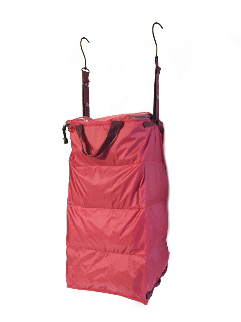 """The Grab and Go"" - PACK Gear Backpack Organizer With Clips (Red) - PACK Gear  - 4"