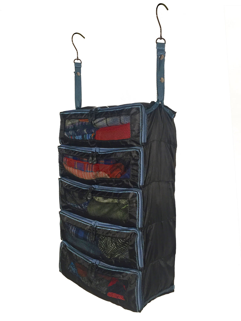 """The Super PACK"" - Suitcase and Luggage Organizer With Zipper Closures (Black) by PACK Gear"