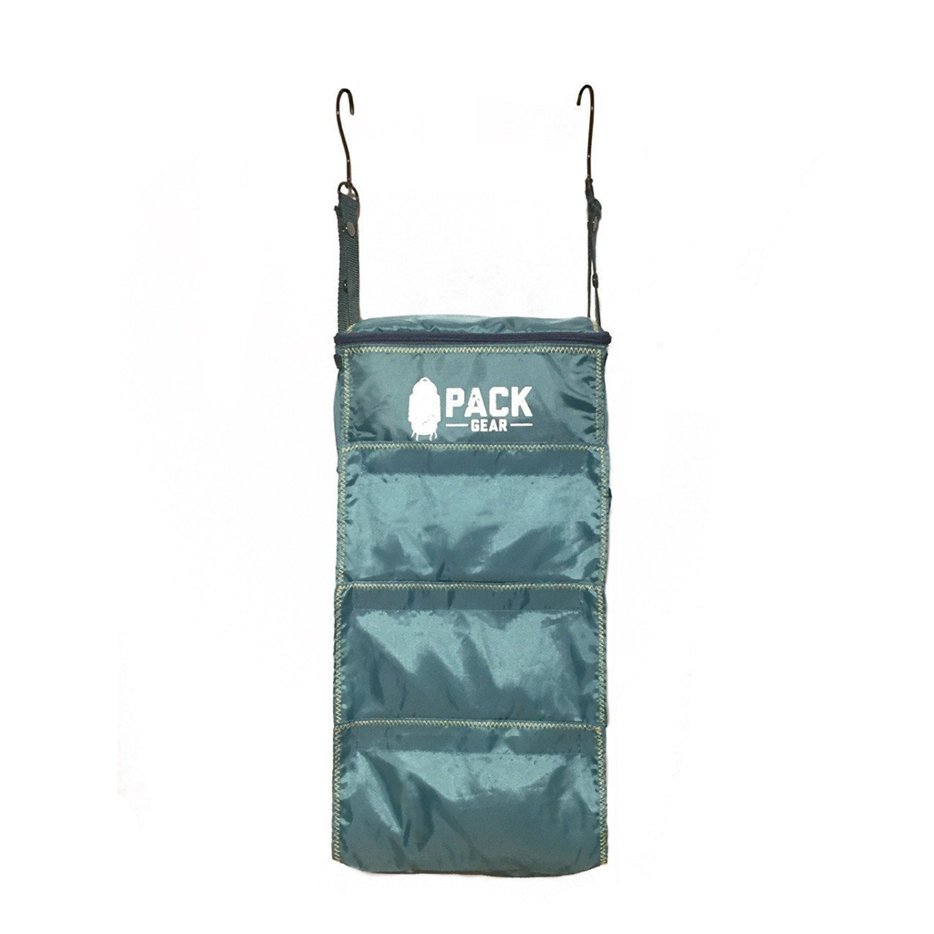 """The BASICS Organizer"" - Backpack and Carry-On Organizer With Velcro Closures (Teal) by PACK Gear"