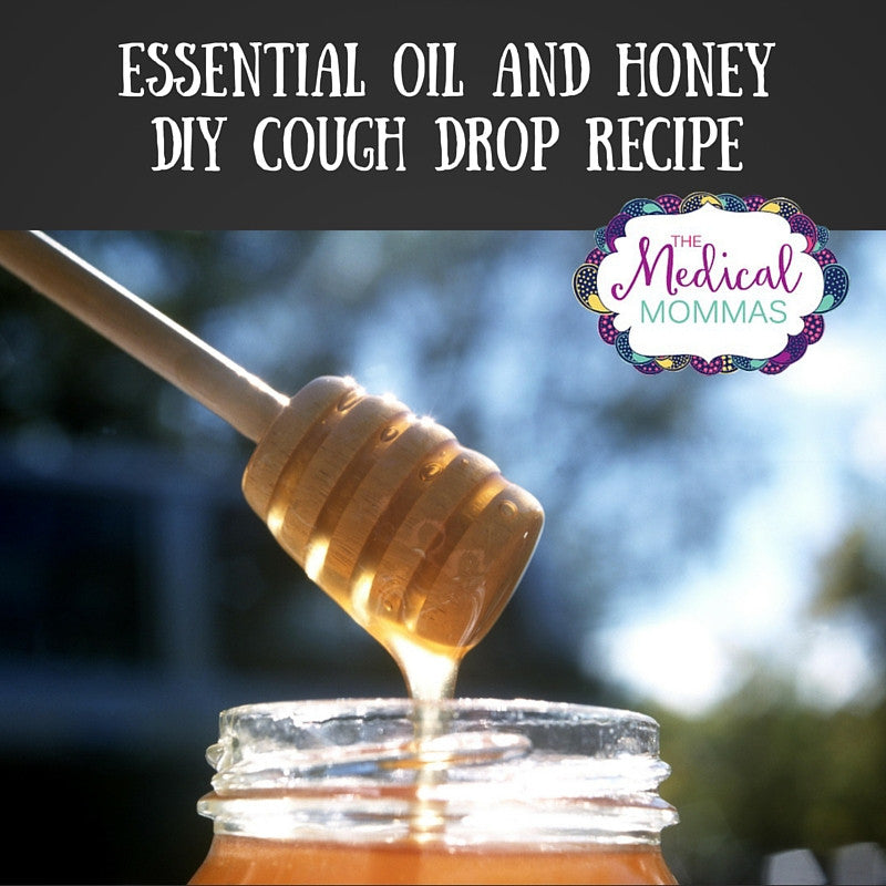 DIY Homemade Essential Oil and Honey Cough Drop Recipe