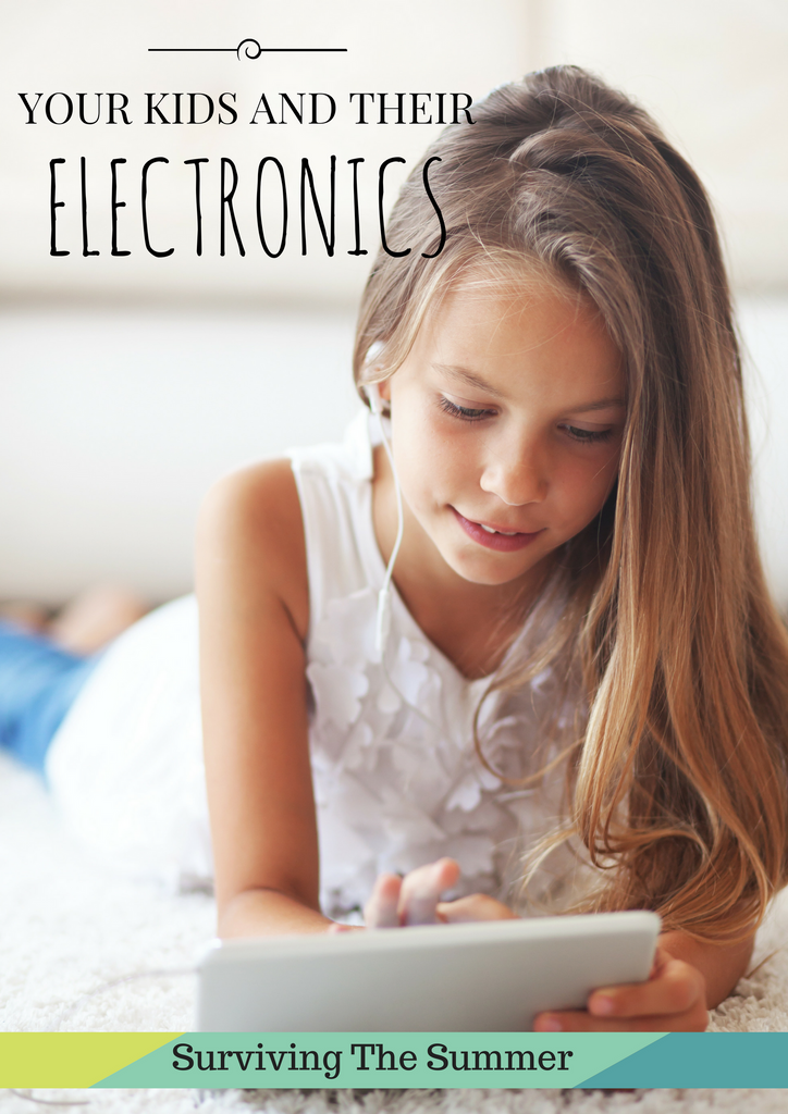 Staying Sane This Summer With Your Kids and Their Electronics