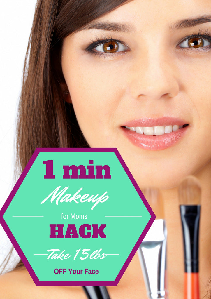 1 Min Makeup Hack to Lose 15lbs