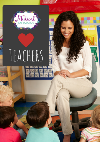 We love teachers prize giveaway from Pinterest