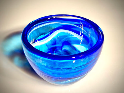 Blue Heavy Bowl