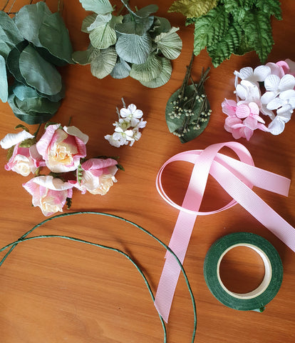 Paper Flower Crown Kit - Mini & Me