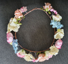 Flower Crown - Pink & Blue