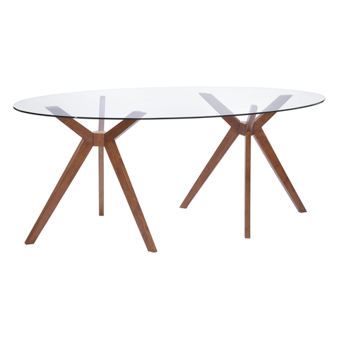 BUENA VISTA Glass Top Table