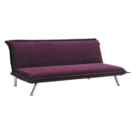 ROMANO Sofa | Quilted Plum