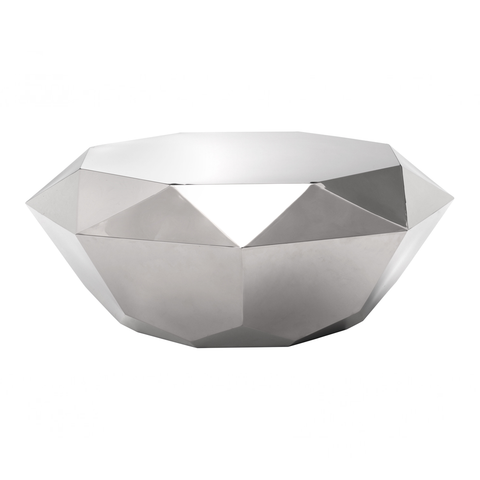 FACET Cocktail Table | Silver
