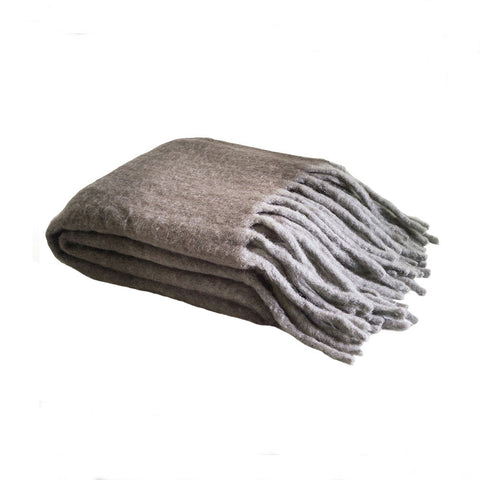 MOHAIR Throw | Dusk