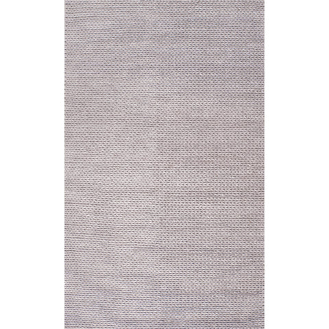 CHUNKY WOOLEN Cable Rug | Light Grey