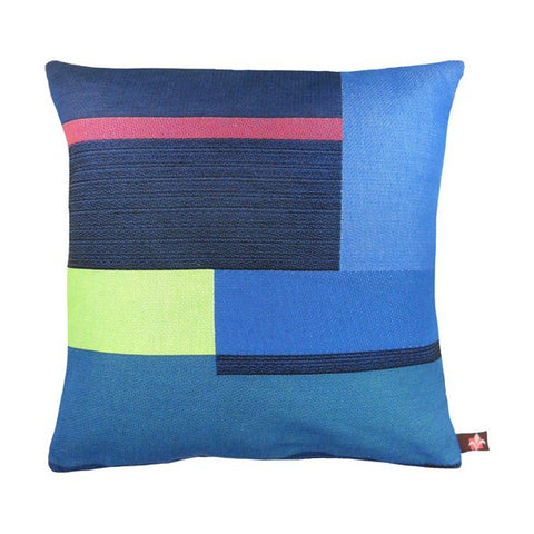 GEOMETRIC Pillow | Blue Abstract