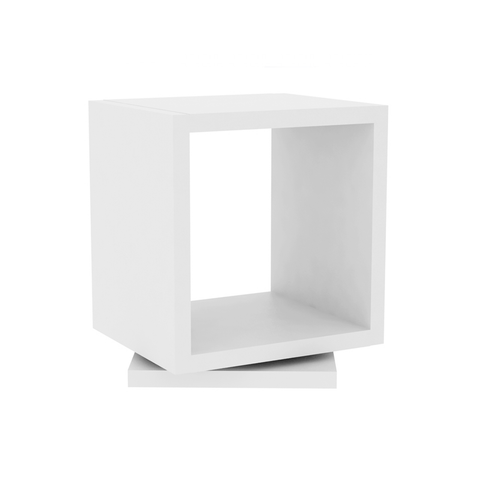 SHELL MINI Side Table | Pure White