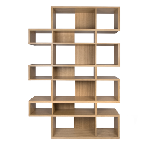 LONDON COMPOSITION High Bookcase | Natural Oak