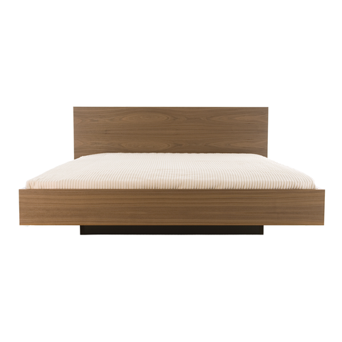 FLOAT Bed | Walnut