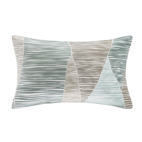 BENGAL Throw Pillow | Blue