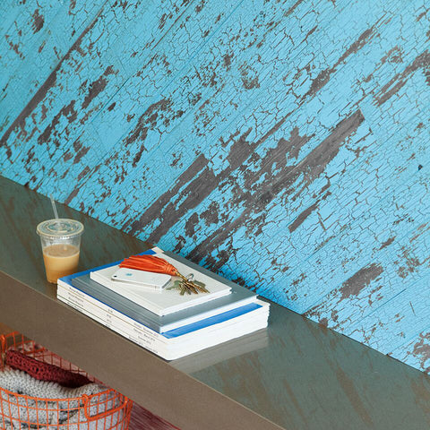 TIMELINE SKINNIES™ Wall Panels | Blue Chalk