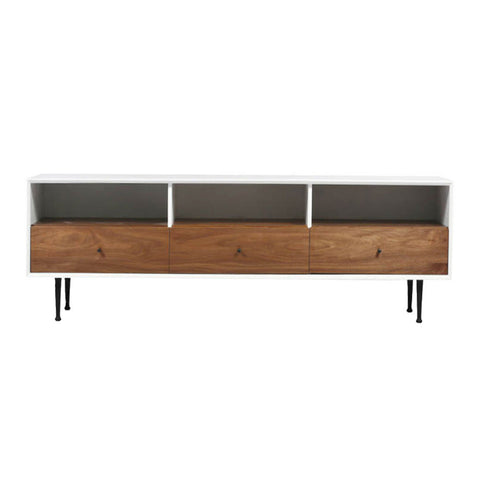 CORA Walnut Media Unit | Large
