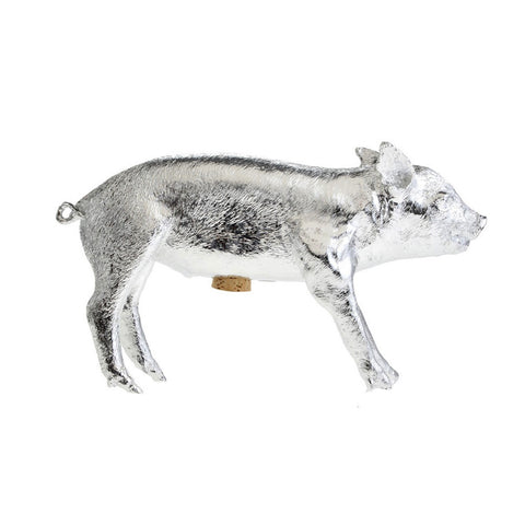 BANK IN THE FORM OF A PIG | Silver
