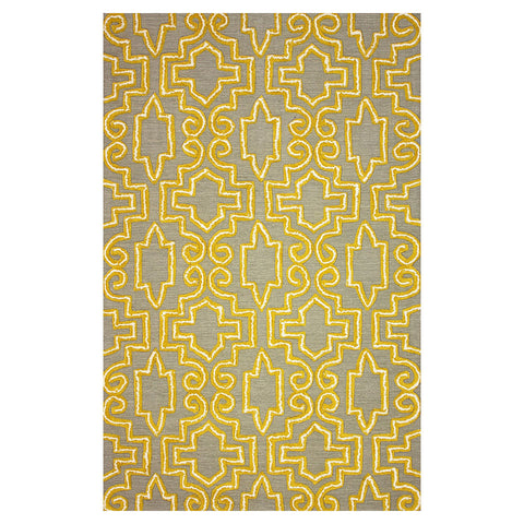 CASEY Hand Tufted Rug | Yellow