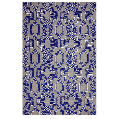 CASEY Hand Tufted Rug | Blue