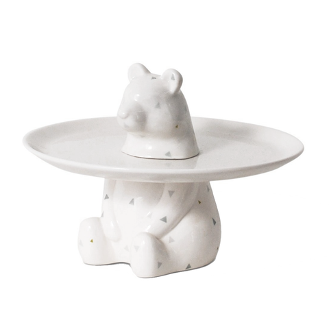 MENAGERIE Cake Plate | Bear
