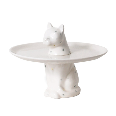 MENAGERIE Cake Plate | Cat