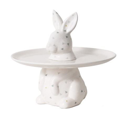MENAGERIE Cake Plate | Rabbit