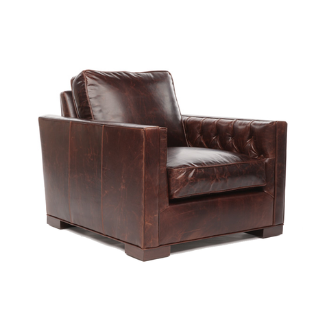 PERALTA Tufted Arm Chair