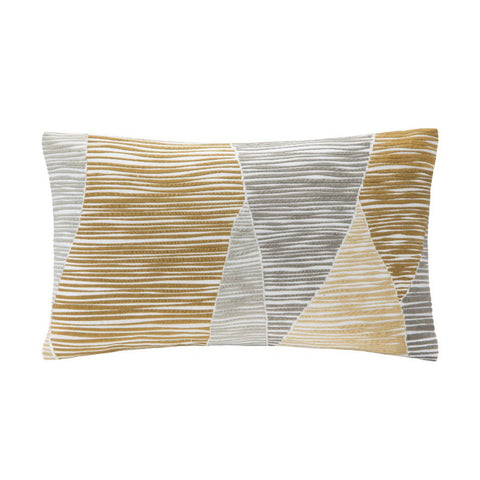 BENGAL Throw Pillow | Yellow