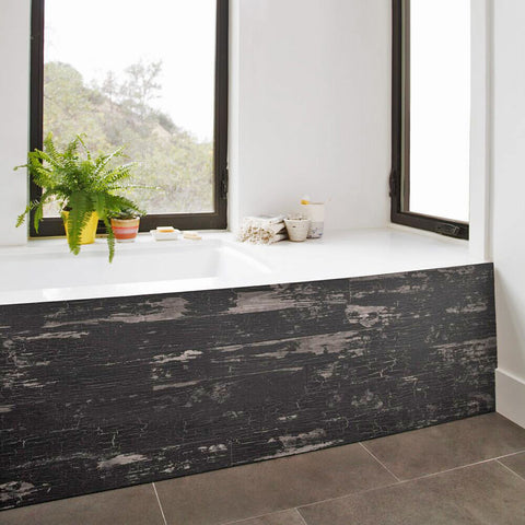 TIMELINE SKINNIES™ Wall Panels | Black Black