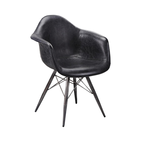 FLYNN Club Chair | Black