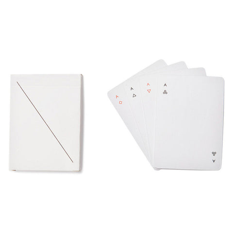 MINIM Playing Card Set | White