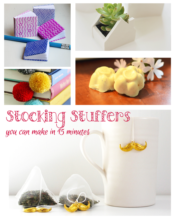 Diy Stocking Stuffers You Can Make In 15 Minutes Diy Happy