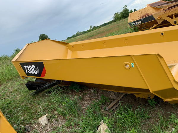 CATERPILLAR 730C BED WITH CYLINDERS