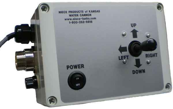Water Cannon Replacement 12 Volt Control Panel Model 11056007