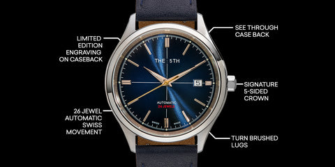The 5TH Swiss Made Automatic Watch Release