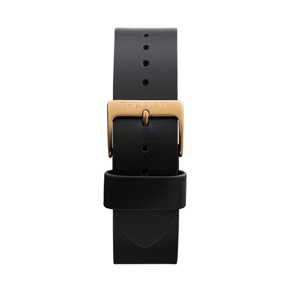 Black and Gold Strap