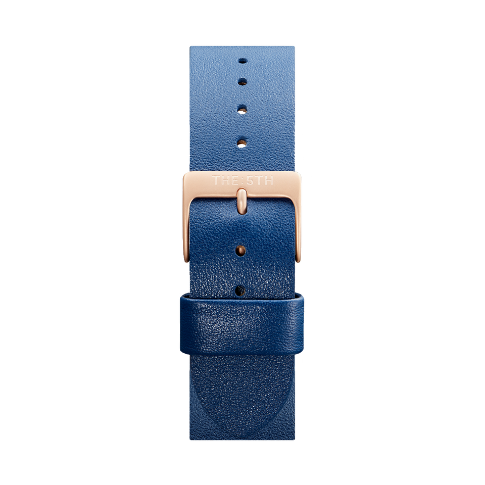 Rose Gold and Navy Strap