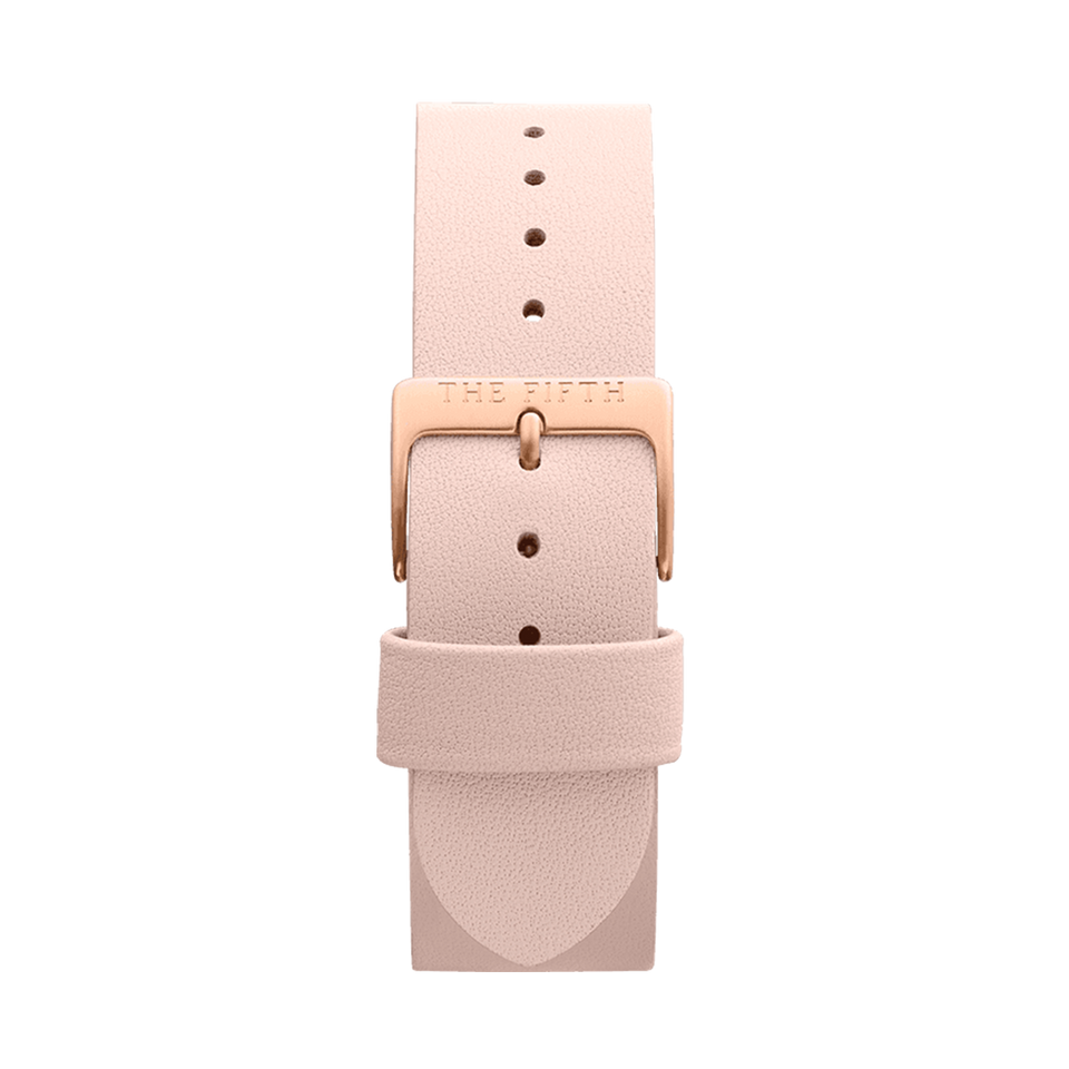Rose Gold & Peach Strap