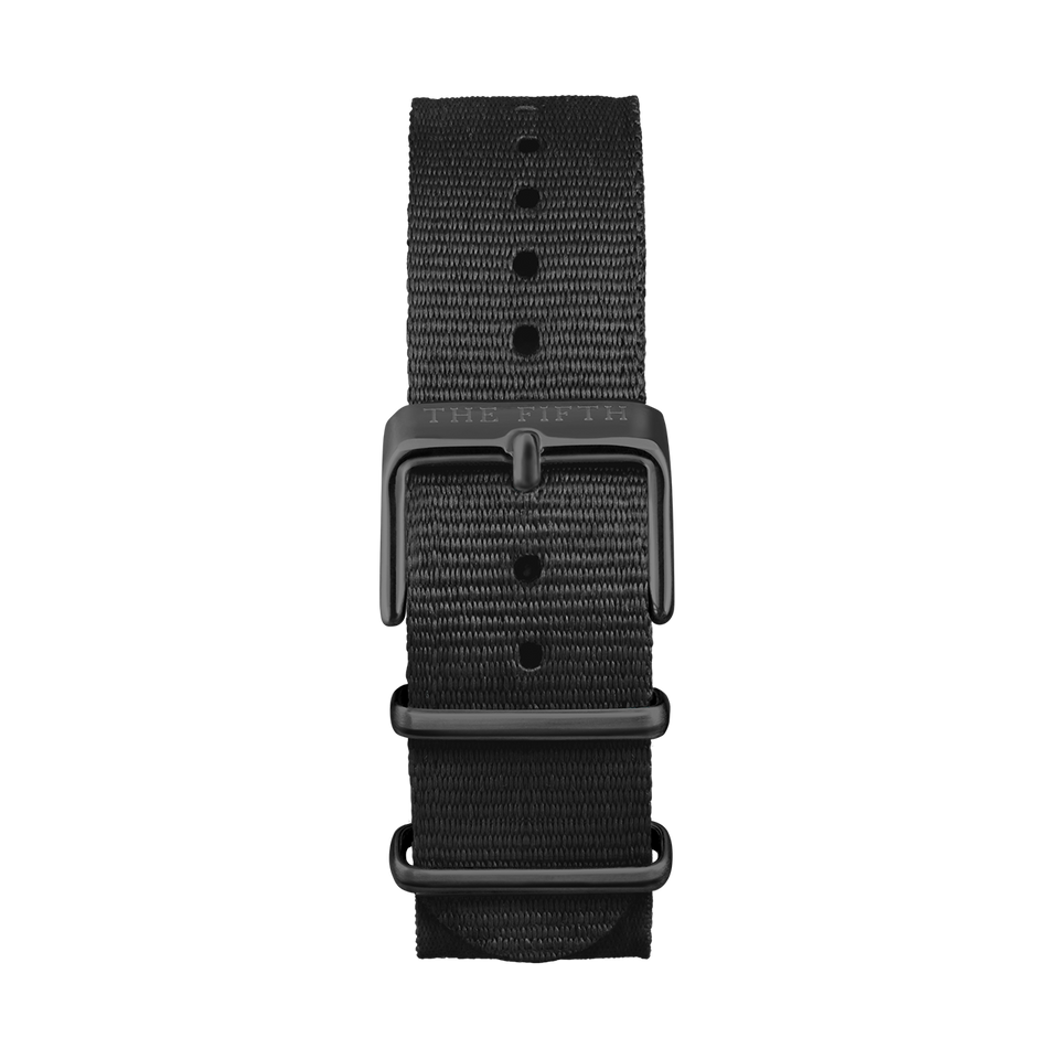 Nato All Black Strap - Mens