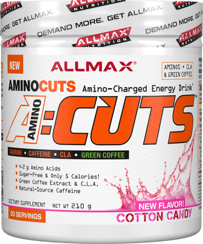 ALLMAX A-Cuts  *Buy one Get one Half Off*