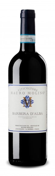 Mauro Molino Barbera d'Alba 2015, Piedmont, Italy - The Australian Wine and Beer School