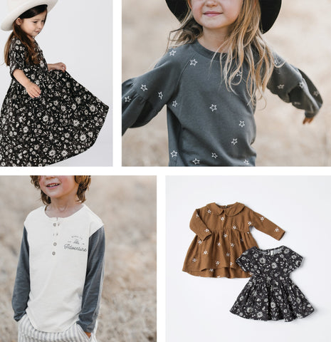 Taylor and Max children's Boutique has the Rylee and Cru Fall collection.