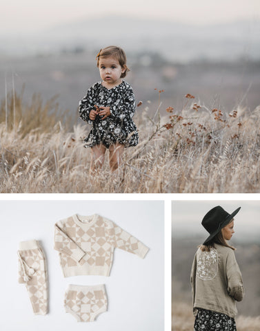 Rylee and Cru Holiday collection at Taylor and Max boutique.