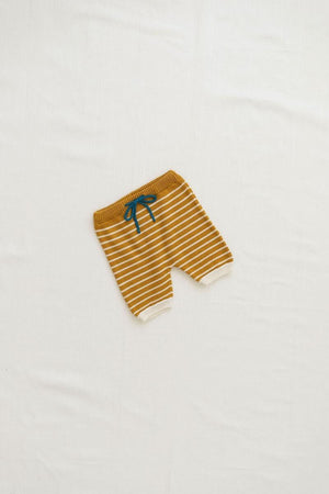 Zion Knit Shorties | Goldenrod