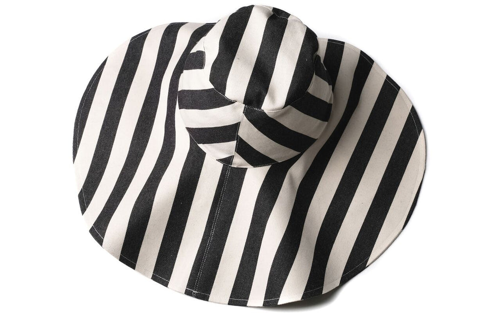 Wolf & Rita Carolina Black Stripes Hat