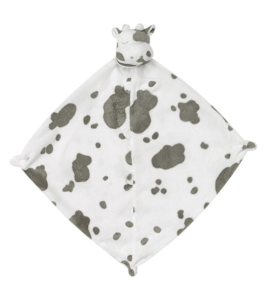 Grey and White Spotted Cow Blankie - TAYLOR + MAX