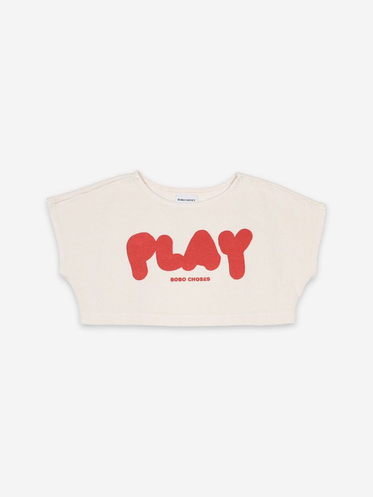 Load image into Gallery viewer, Play Cropped Sweatshirt