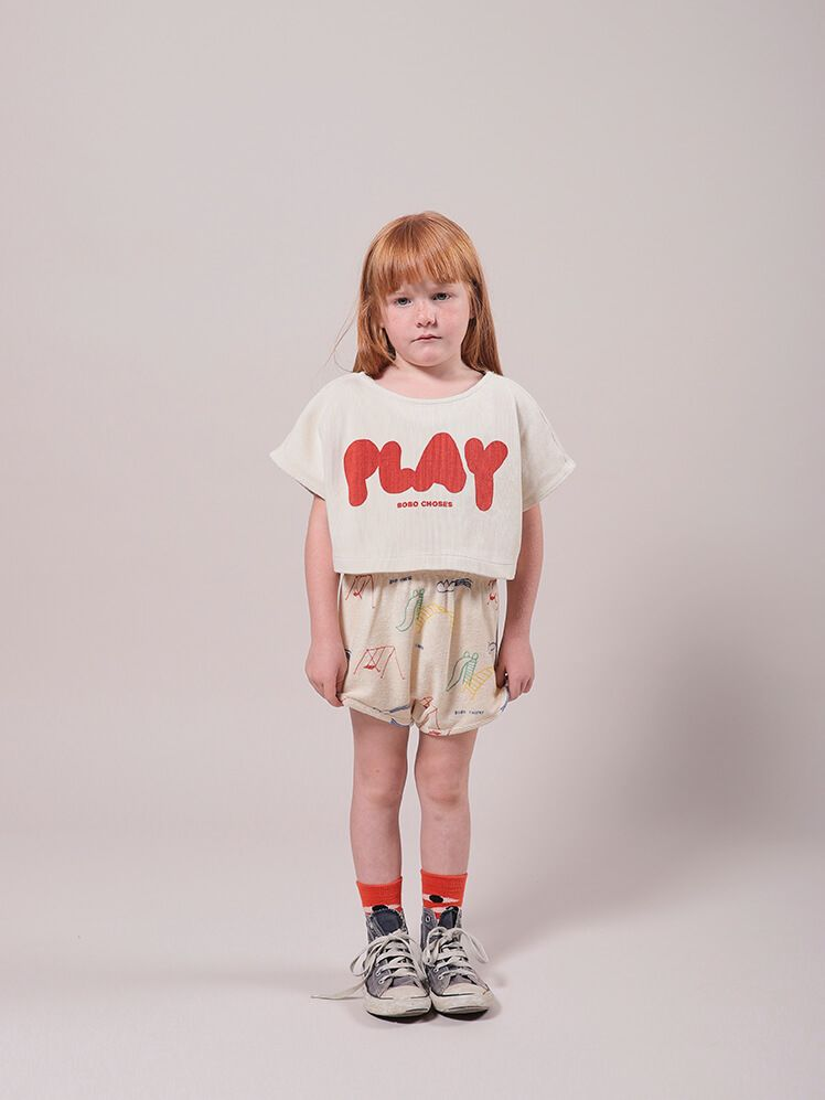 Play Cropped Sweatshirt